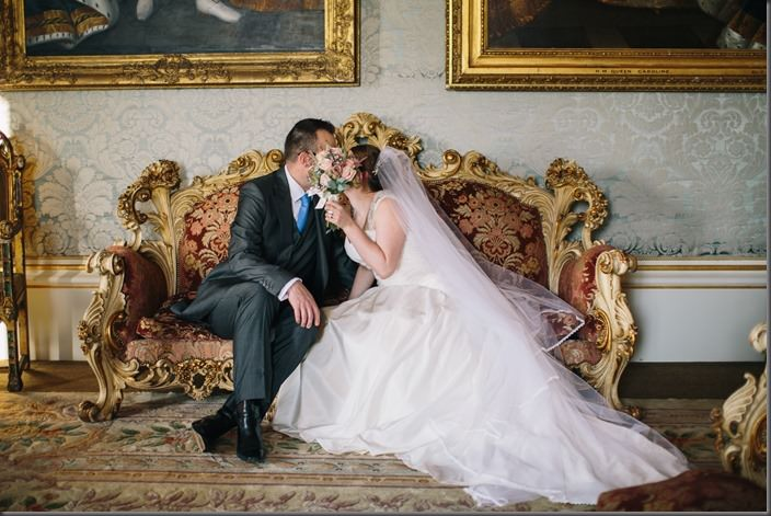 Allerton Castle Wedding by Emily Hannah Photography