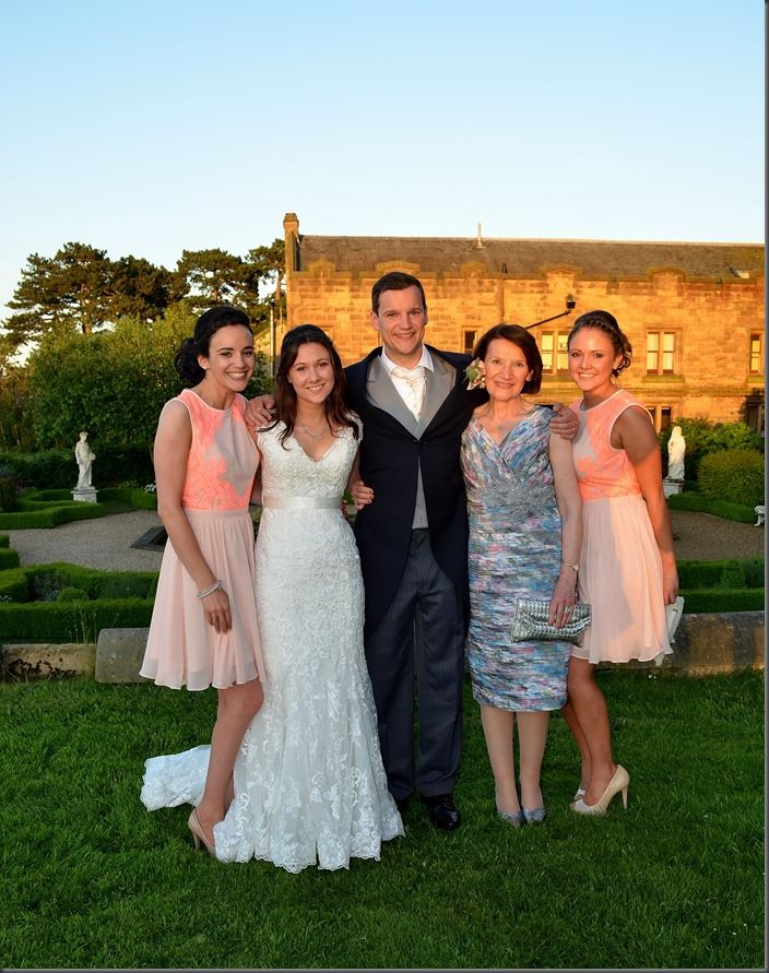Emily and Will - Allerton Castle Wedding (30)