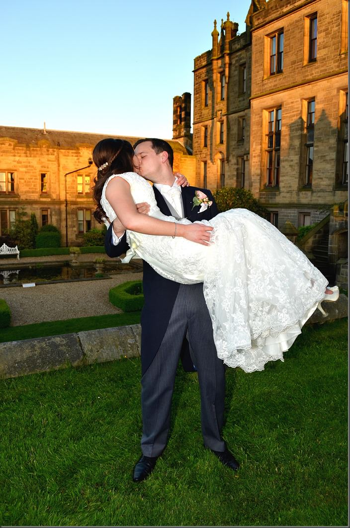 Emily and Will - Allerton Castle Wedding (31)