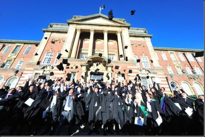 Leeds Metropolitan University Graduation Week 2014