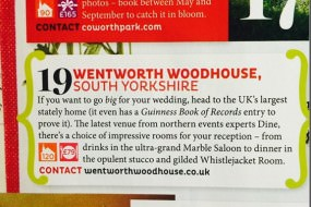 Wentworth Woodhouse weddings