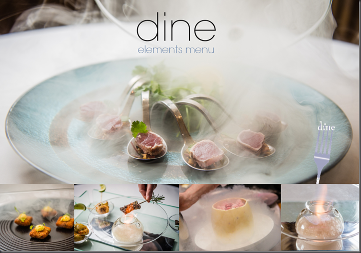 A Spectacular Menu Launch & Dine Elements