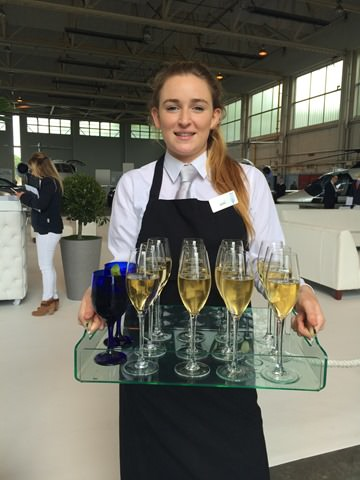 Champagne on a corporate Dine Event