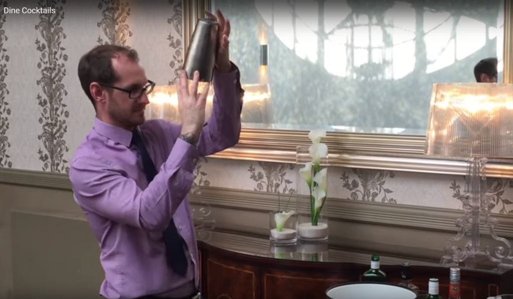 Dine's Master Mixologist Shakes Things Up At The Mansion