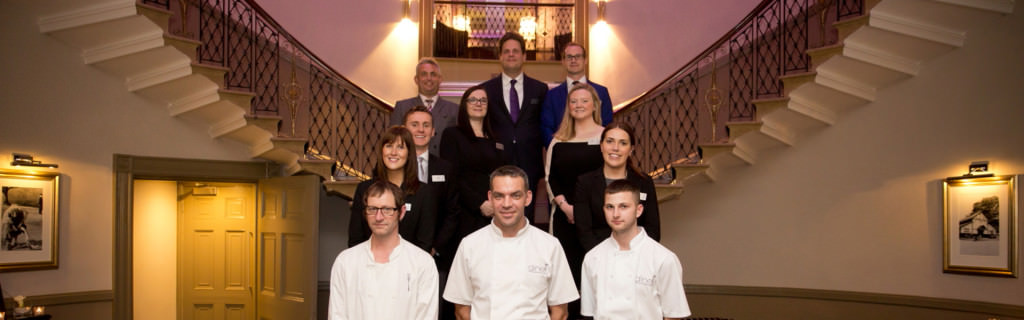 The Dine team at The Mansion
