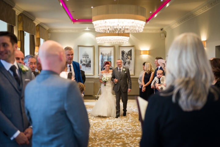 Civil Ceremony at The Mansion