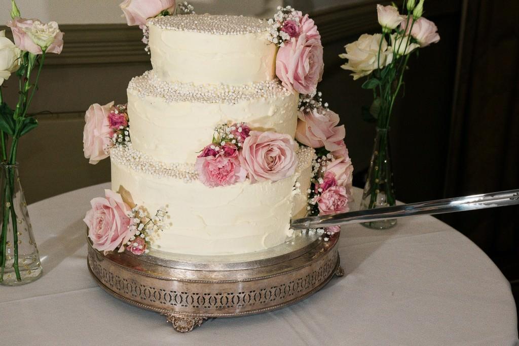 Gluten Free Wedding Cake at The Mansion