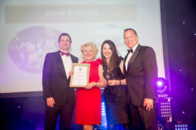 Dine's excellence was recognised at an awards supper