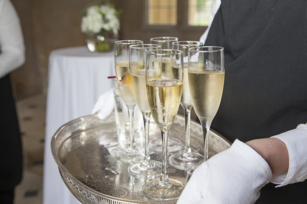 hire a catering company at Apethorpe Palace