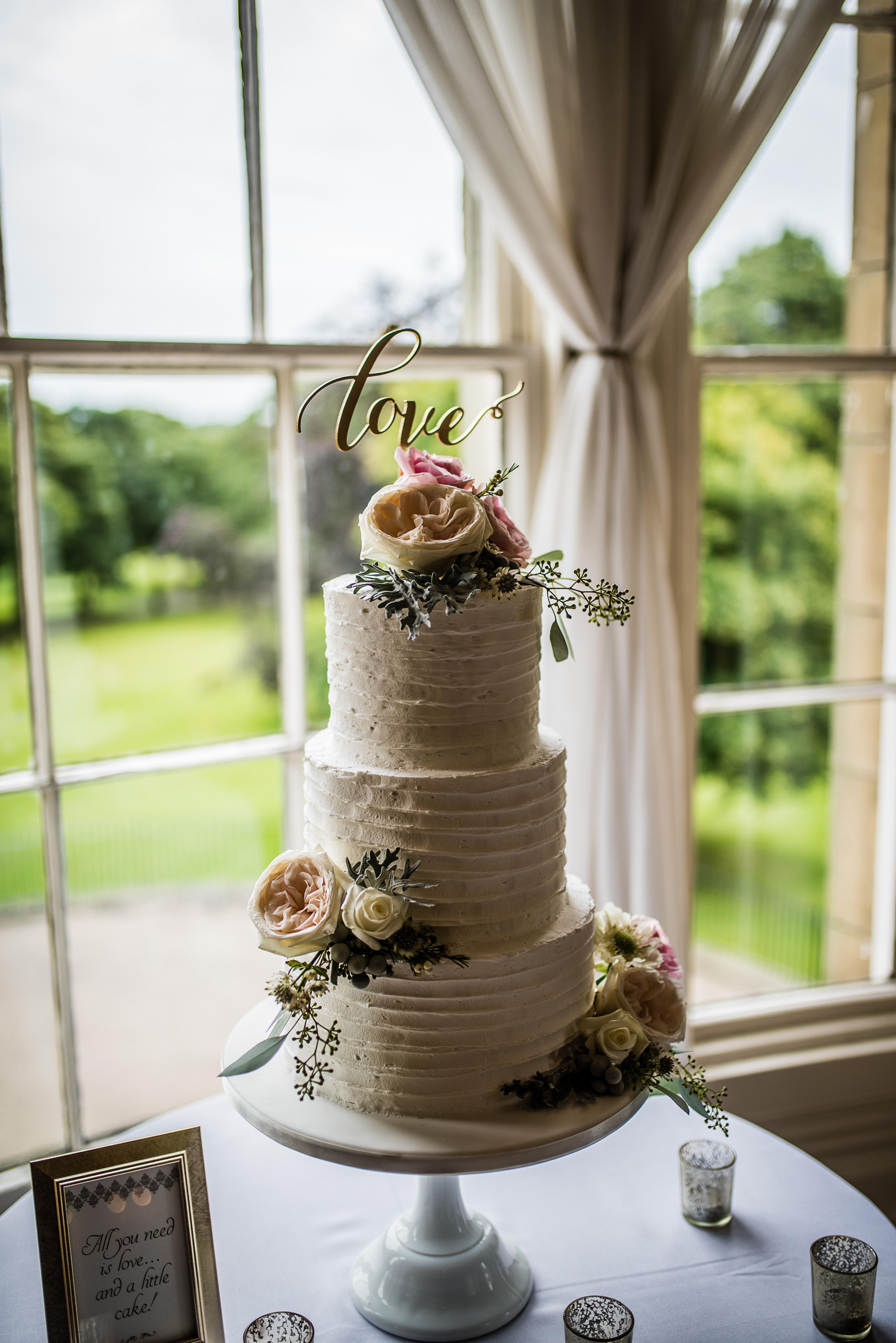 Wedding Cake by Poppy Pickering