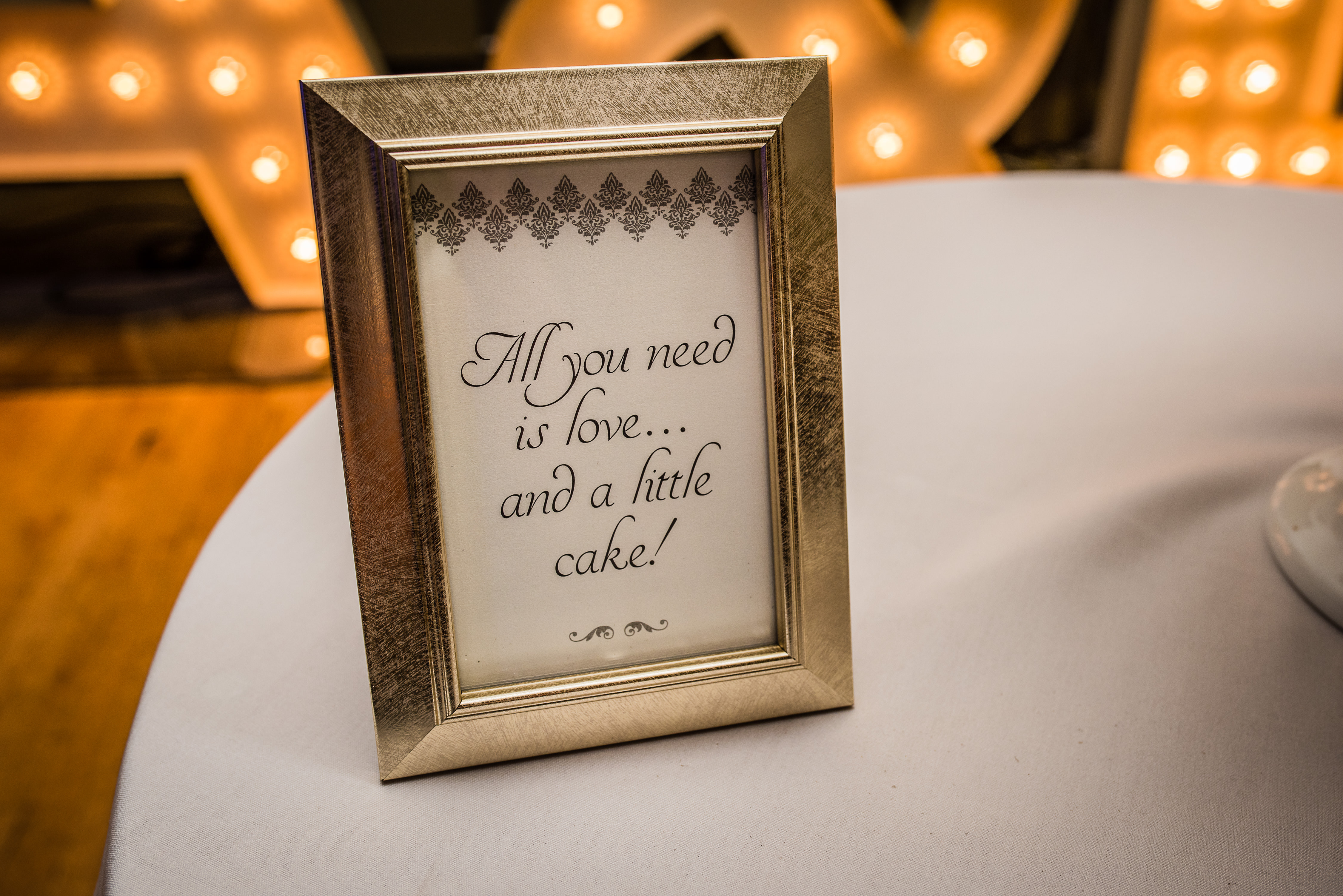 Wedding Message - All Your Need is Love