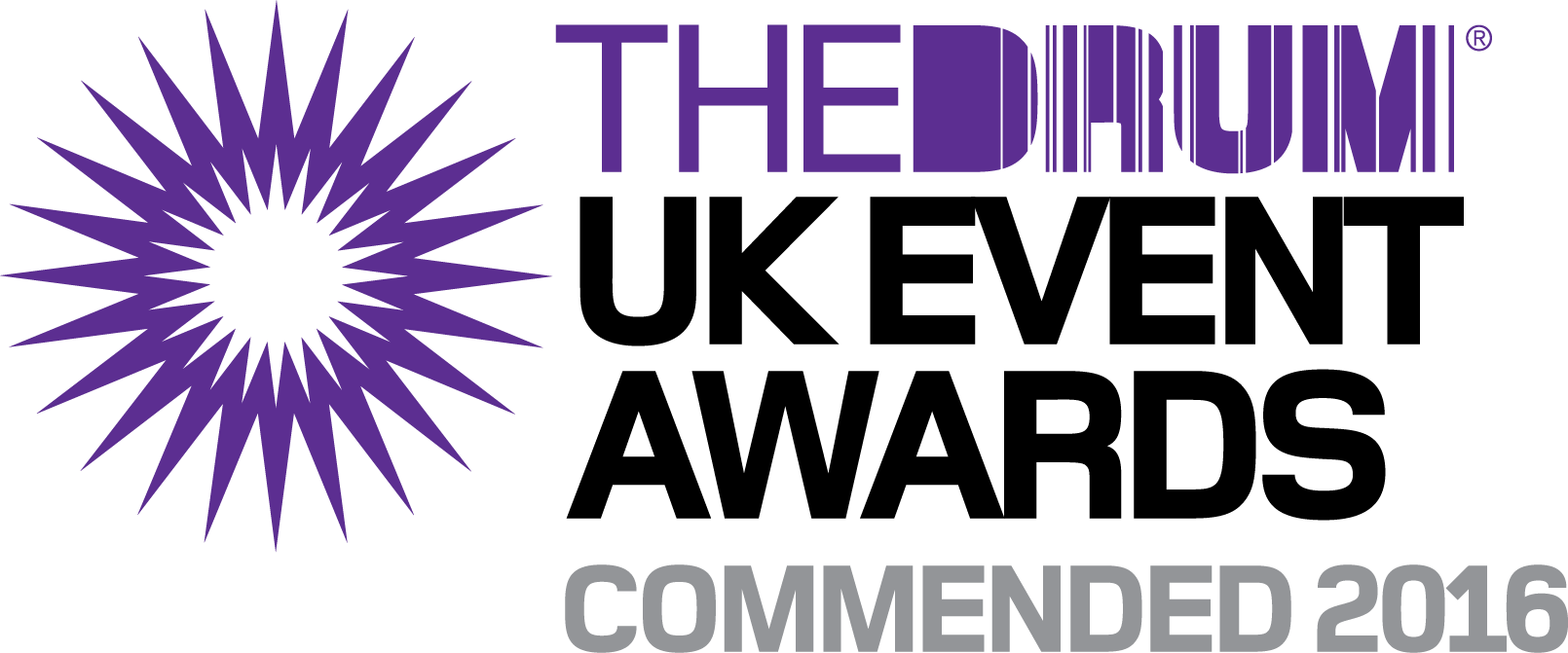 2016 UK Event Awards Commendation