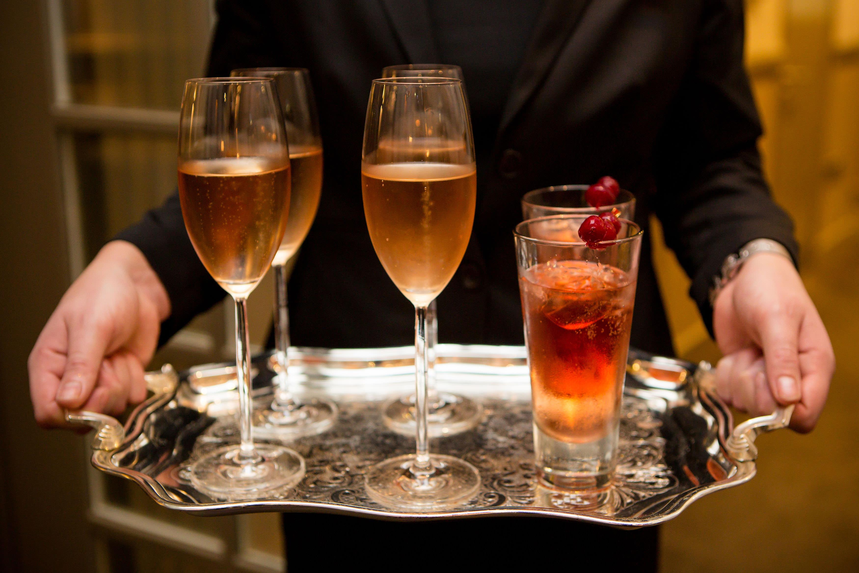 Festive Cocktails, Festive Feast, Champagne Cocktail