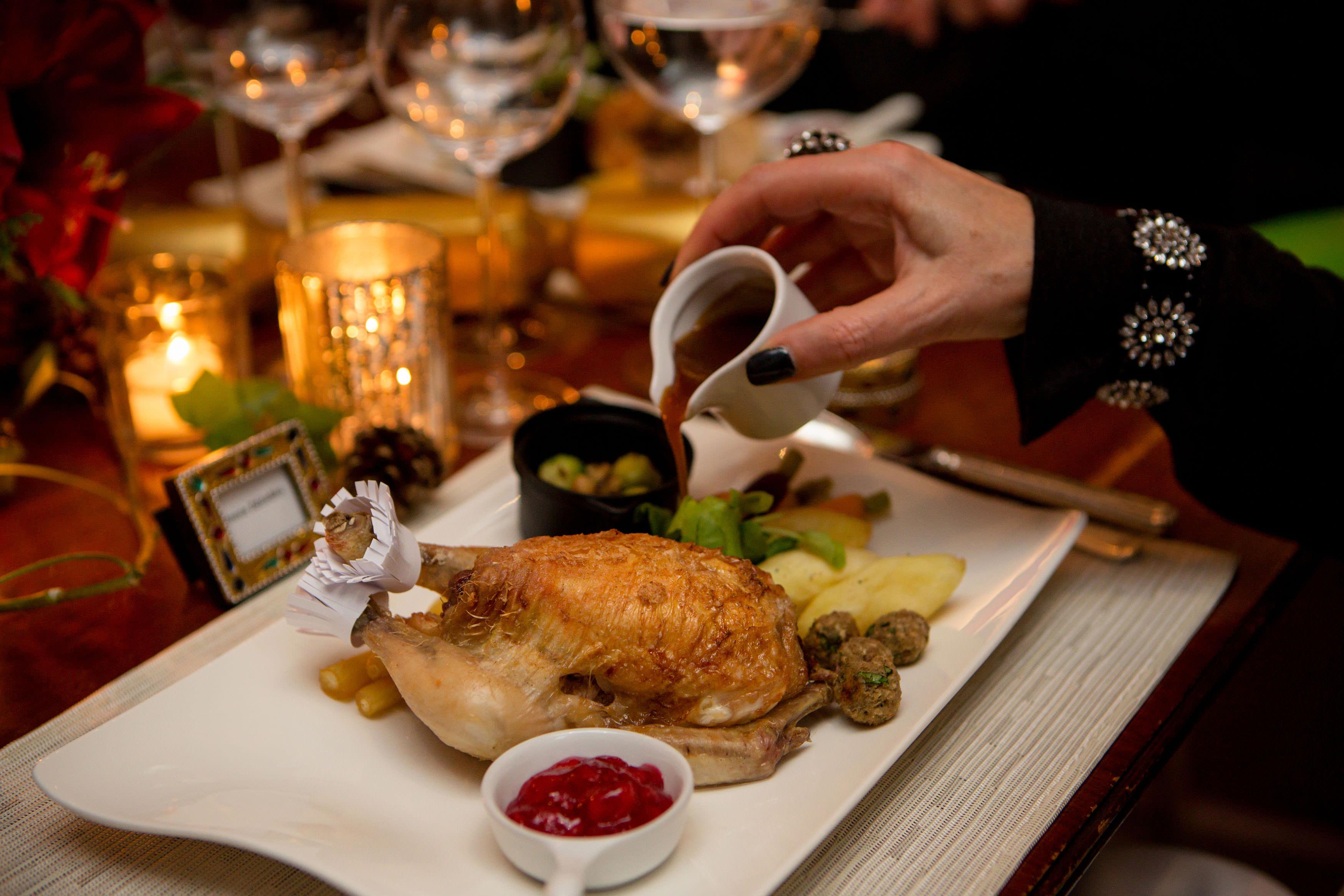 Ambassadors' Dinner - Regency Christmas Feast - 3 Bird Roast, Christmas Lunch Dine Style!
