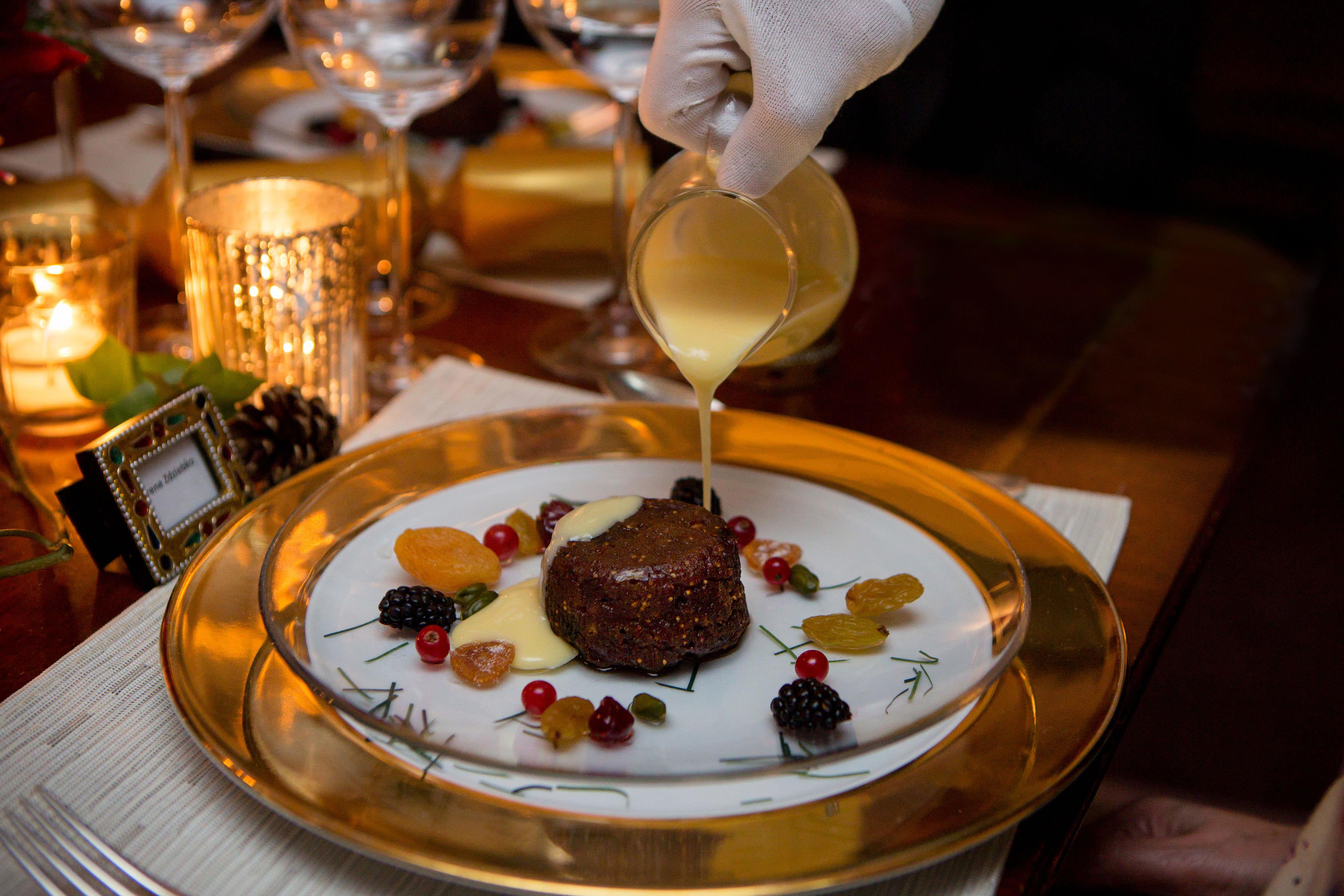 Ambassadors' Dinner - Regency Christmas Feast - Plum & Fig Christmas Pudding