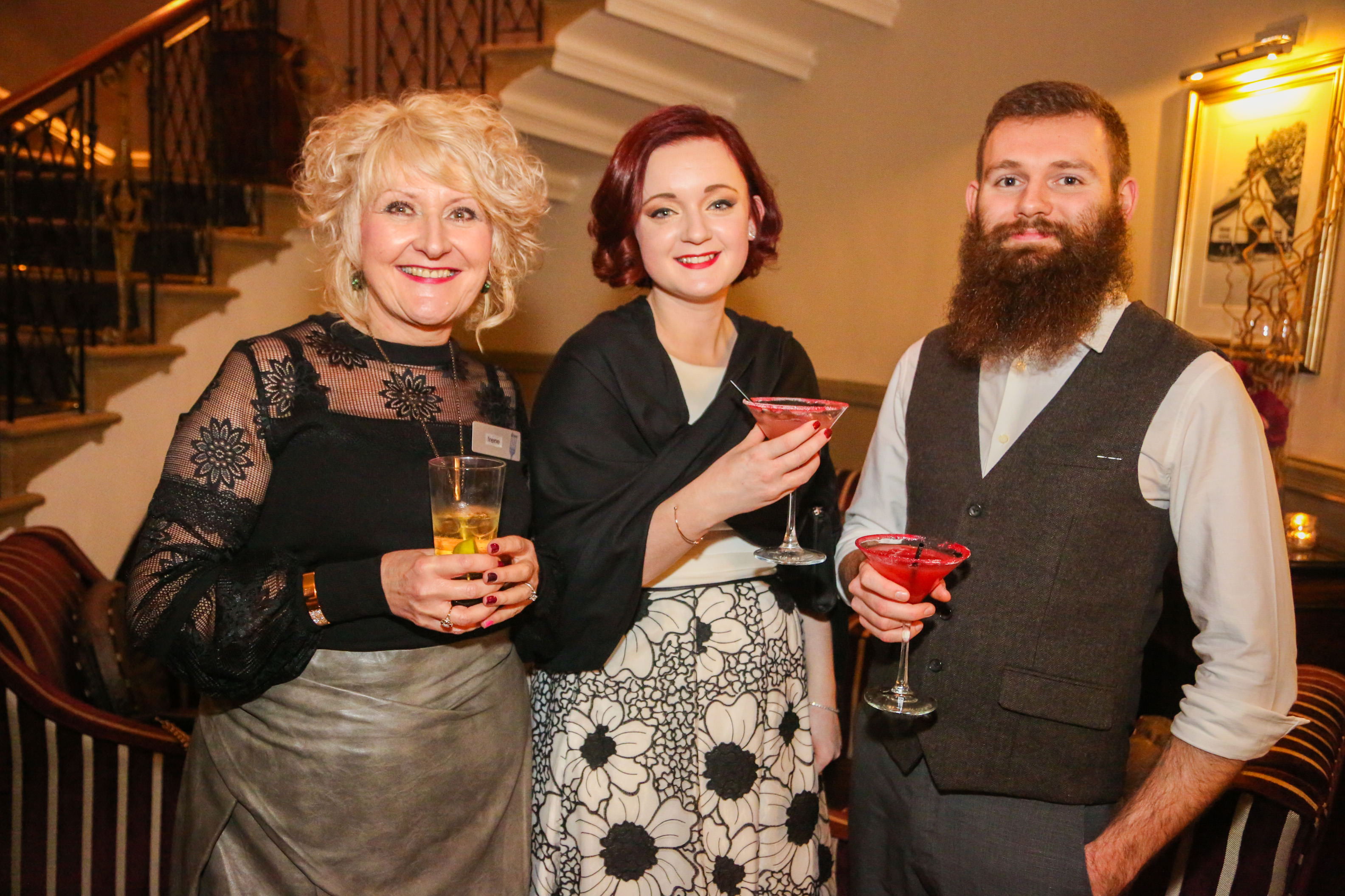 Jane & Ben, Owners of New Craven Hall with Irene from Dine
