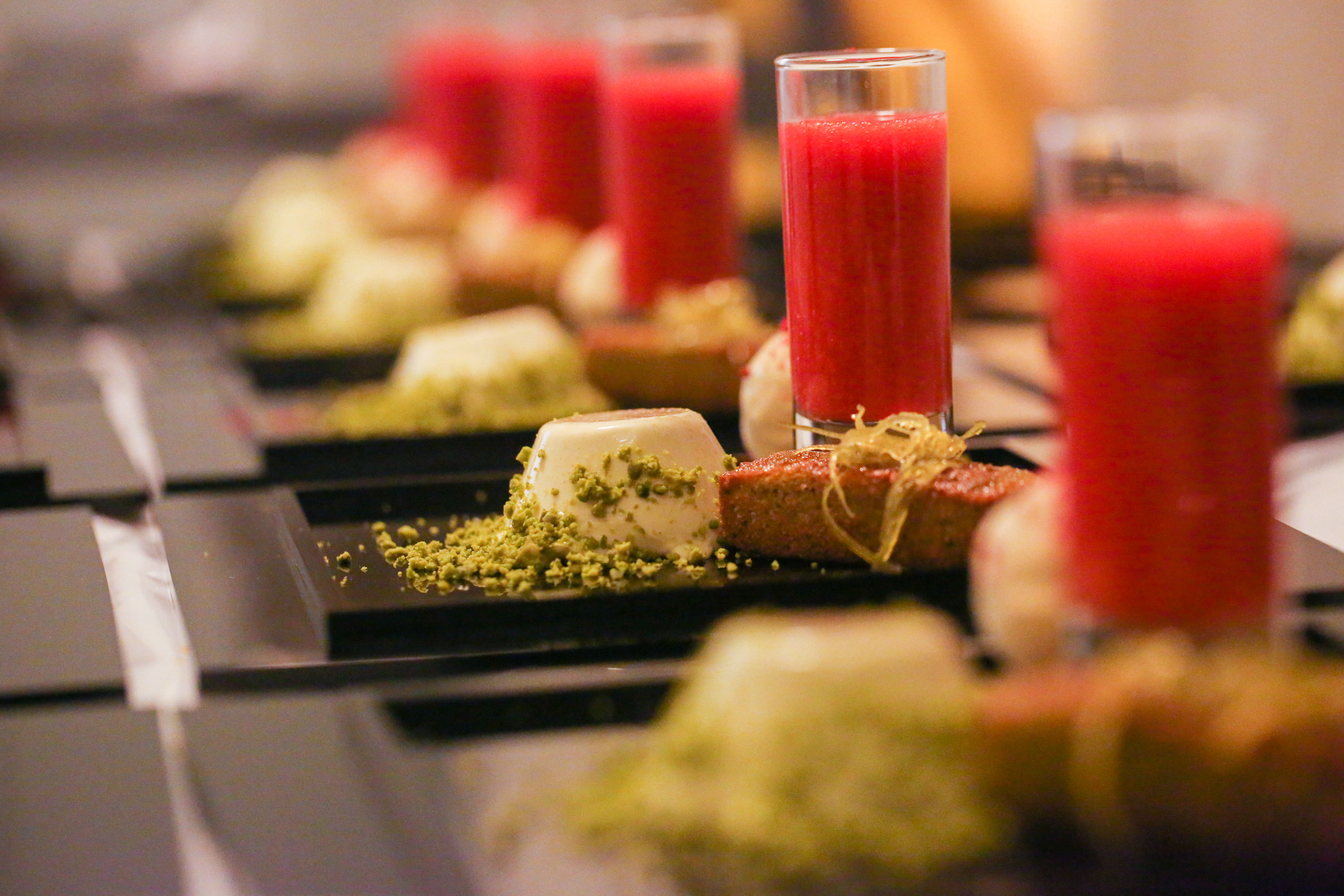 Ambassadors' Dinner Pudding - catering by Dine