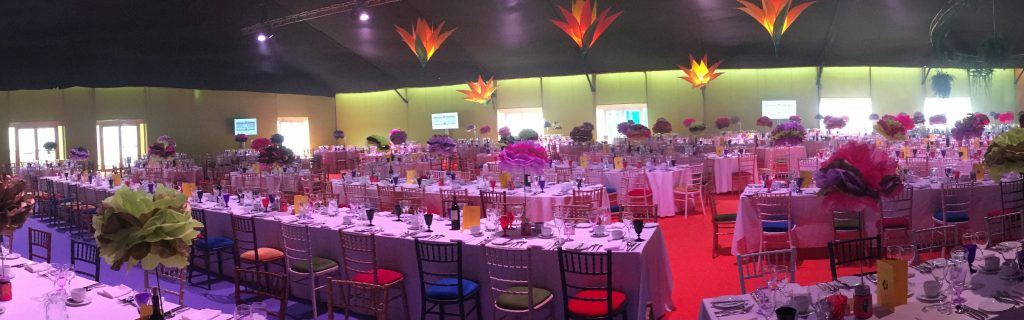 Dine events marquee hire