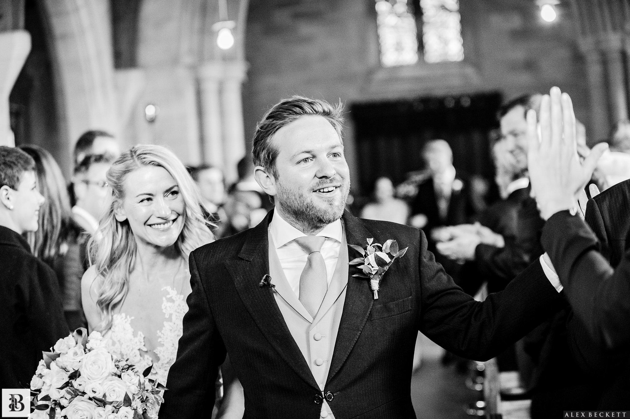 Church wedding in Scotland