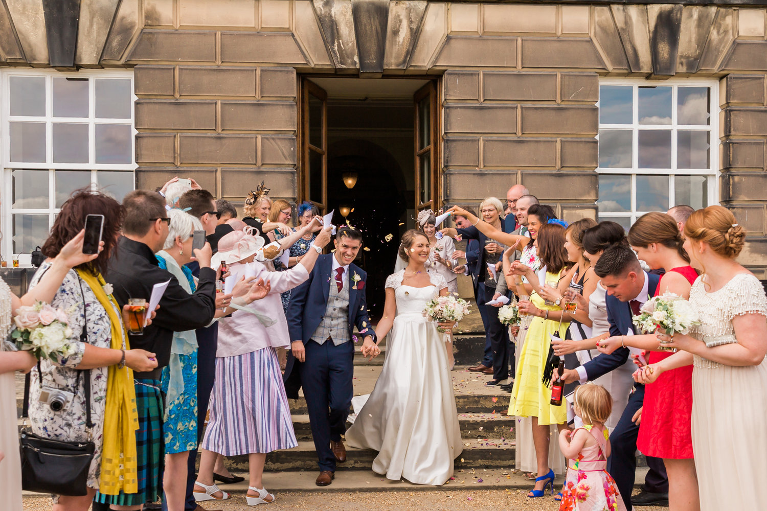 Dine Events | Wedding Venue | Wentworth Woodhouse | Civil Ceremony | Mr & Mrs