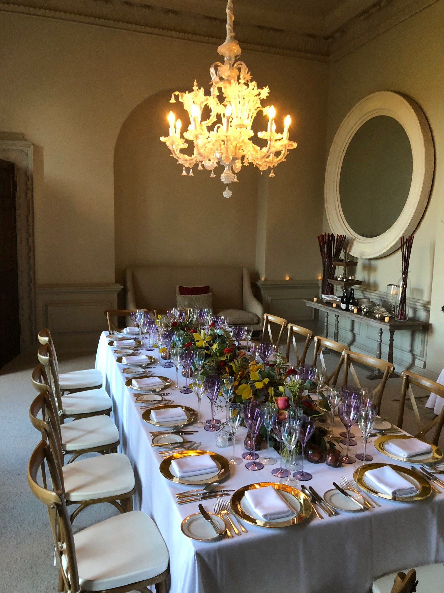 Autumnal Ambassadors Dinner At Howsham Hall Part One Dine