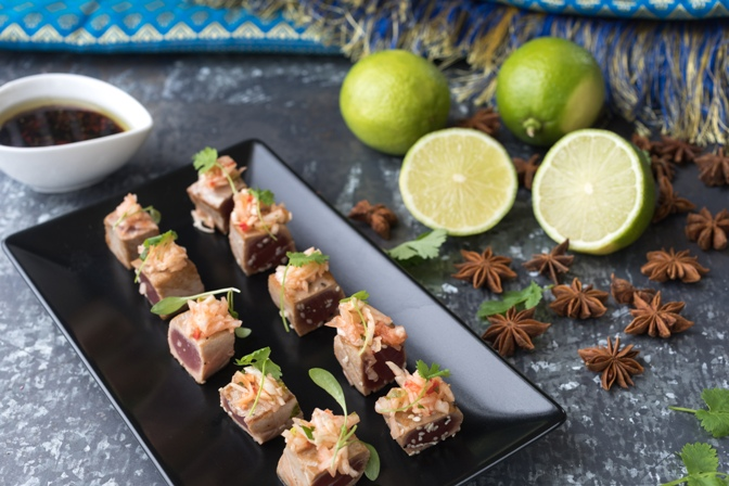 Dine Delivered Canapes - perfect for Christmas get-togethers