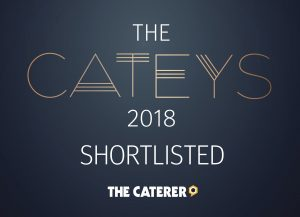 The Catey Awards Finalist Logo - 2018 - Dine, Best Caterer Award
