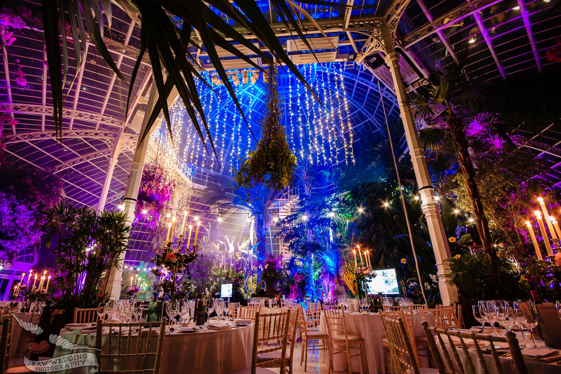 Charity Dinner in Liverpool, Sefton Park Palm House