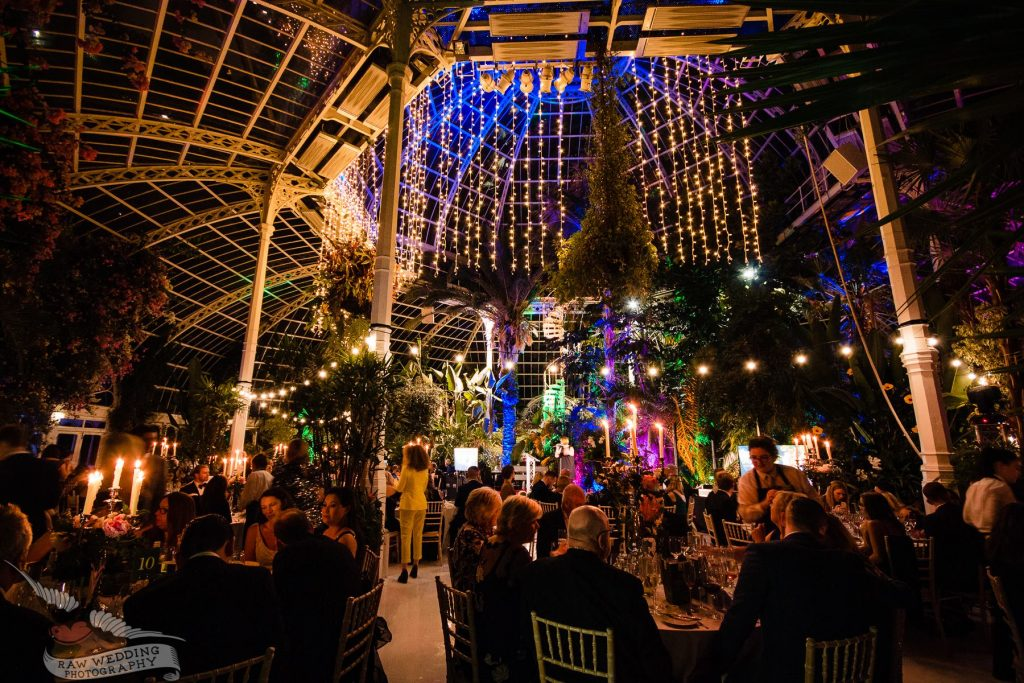 Dine Charity Dinner at Sefton Park Palm House