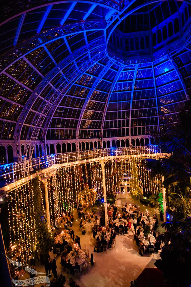 Henry Yates Thompson Charity Dinner at Sefton Park Palm House