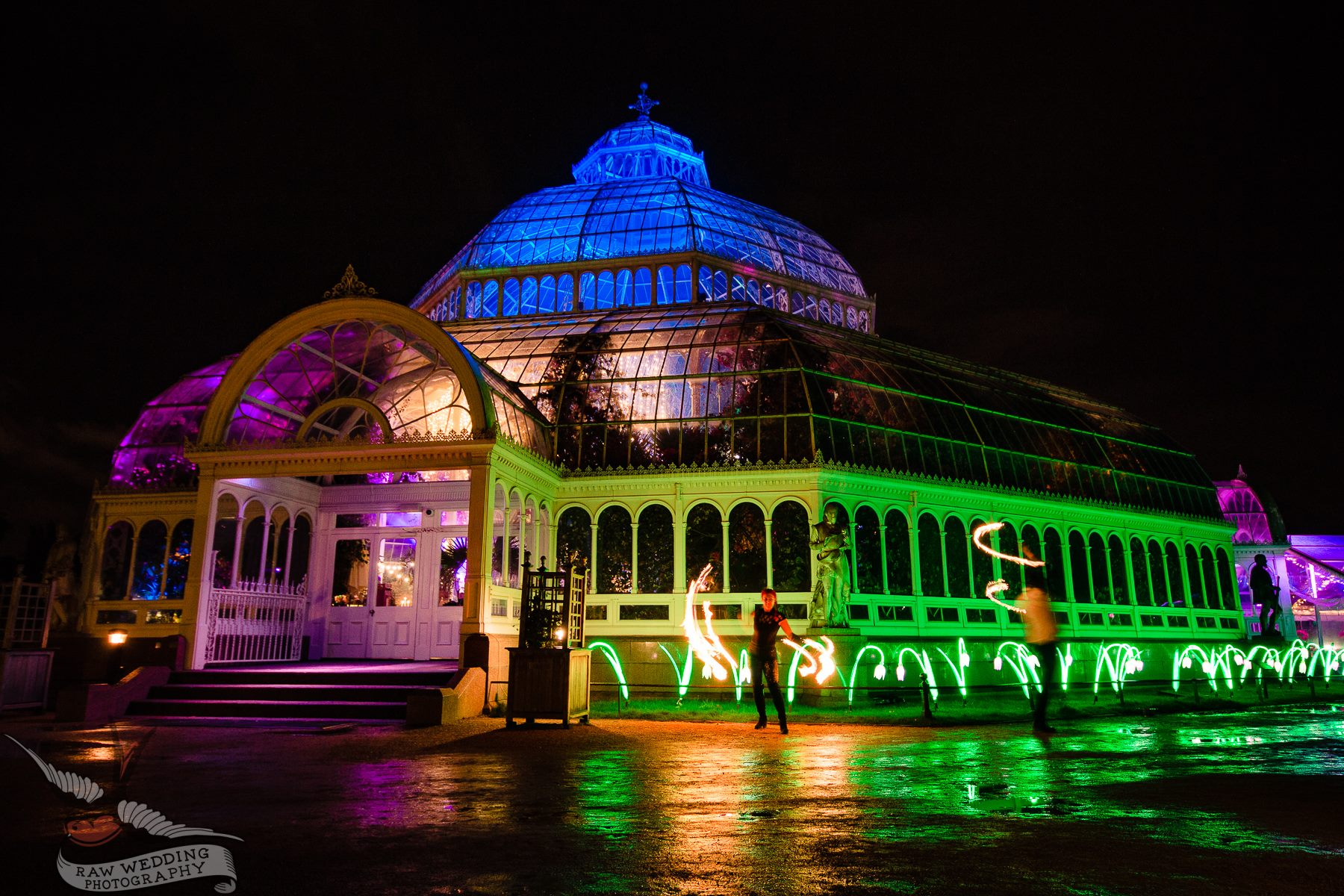 Charity Dinner at Sefton Park Palm House