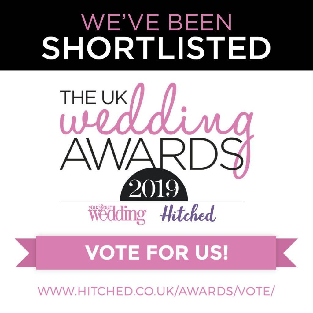 UK Wedding Awards, Vote for Dine