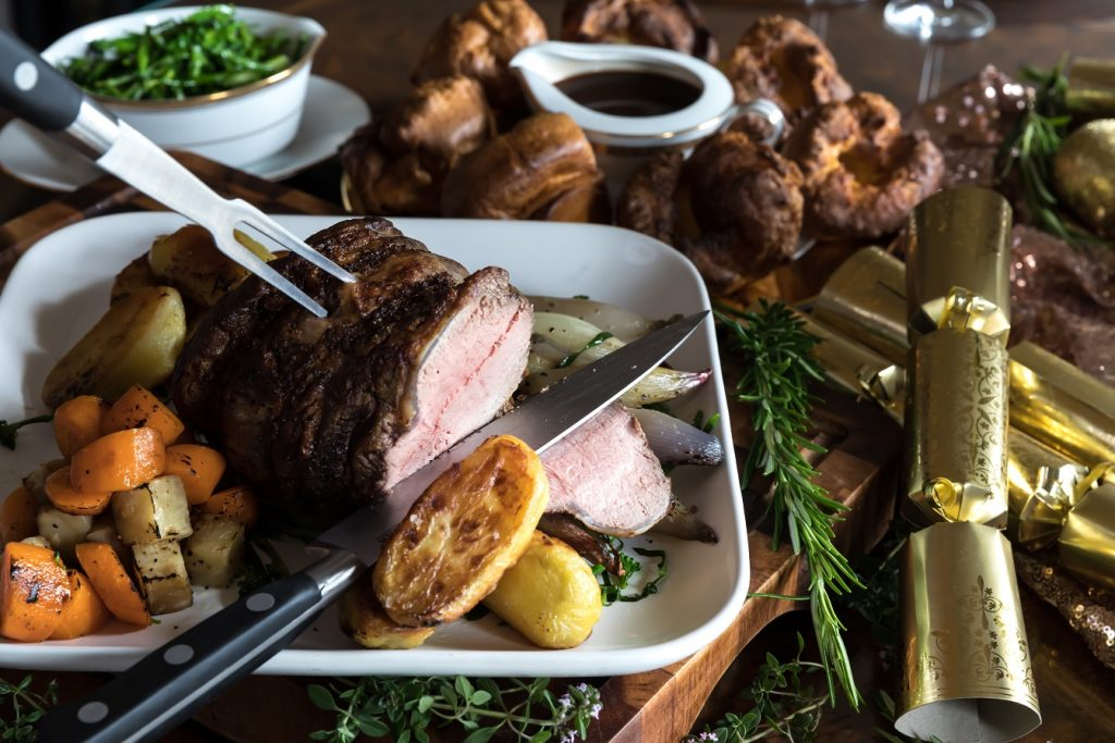 Christmas Roast Beef by Dine Delivered