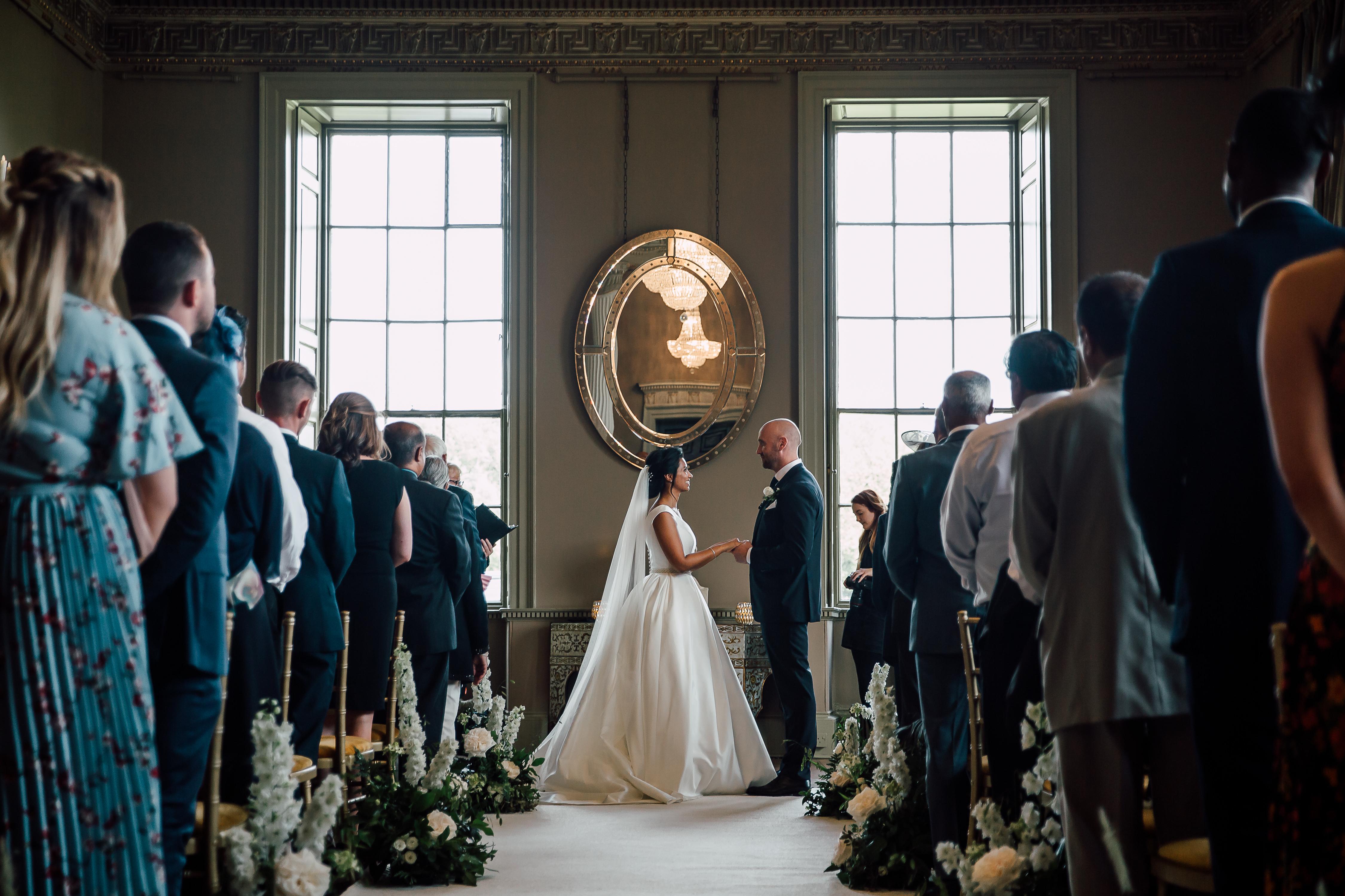 Howshal Hall | Dine Venues | Wedding Ceremony | Anecia & Ben