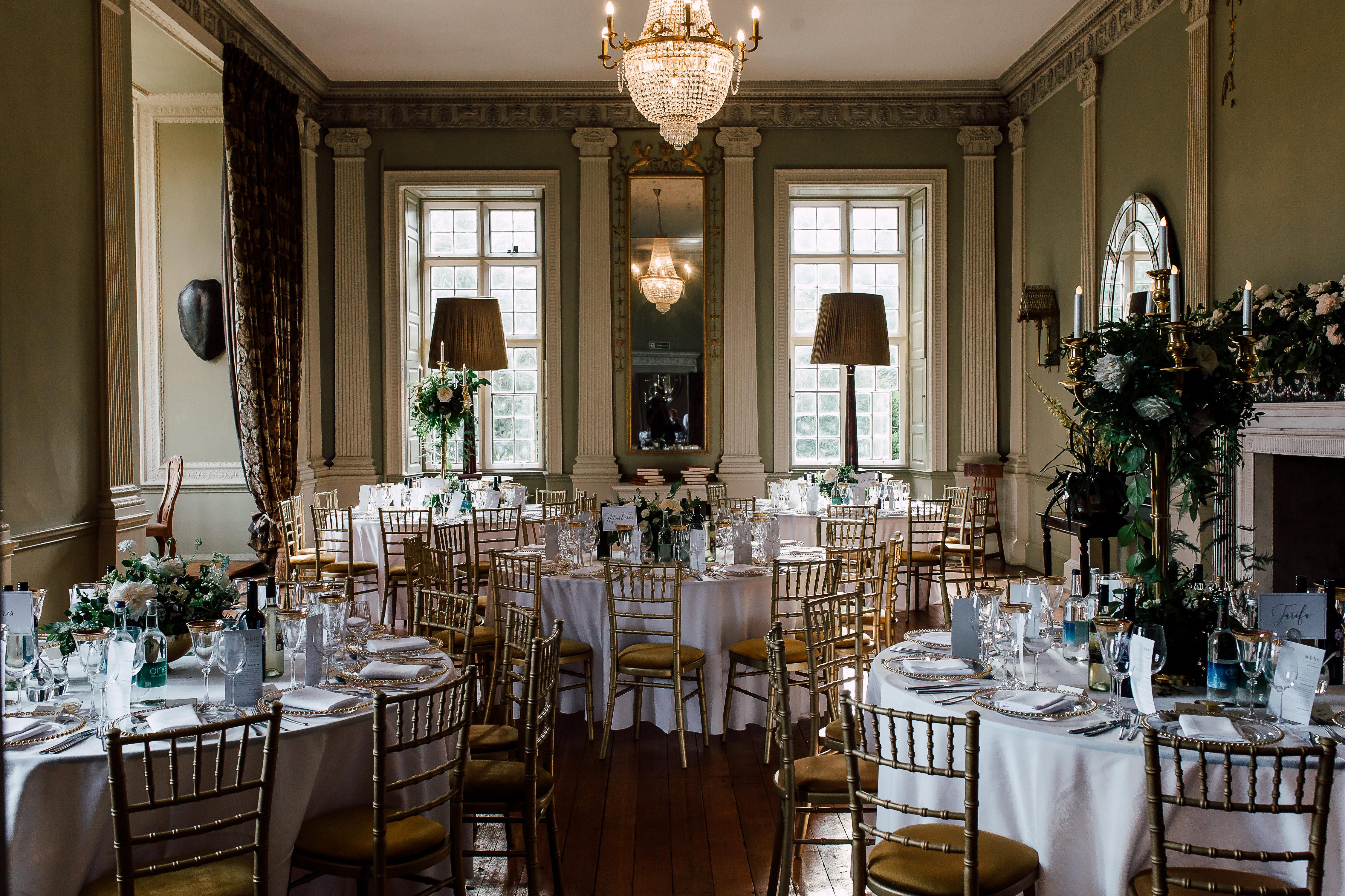 Howsham Hall | Dine Venues | Wedding Venue York | Event Styling | Wedding Flowers