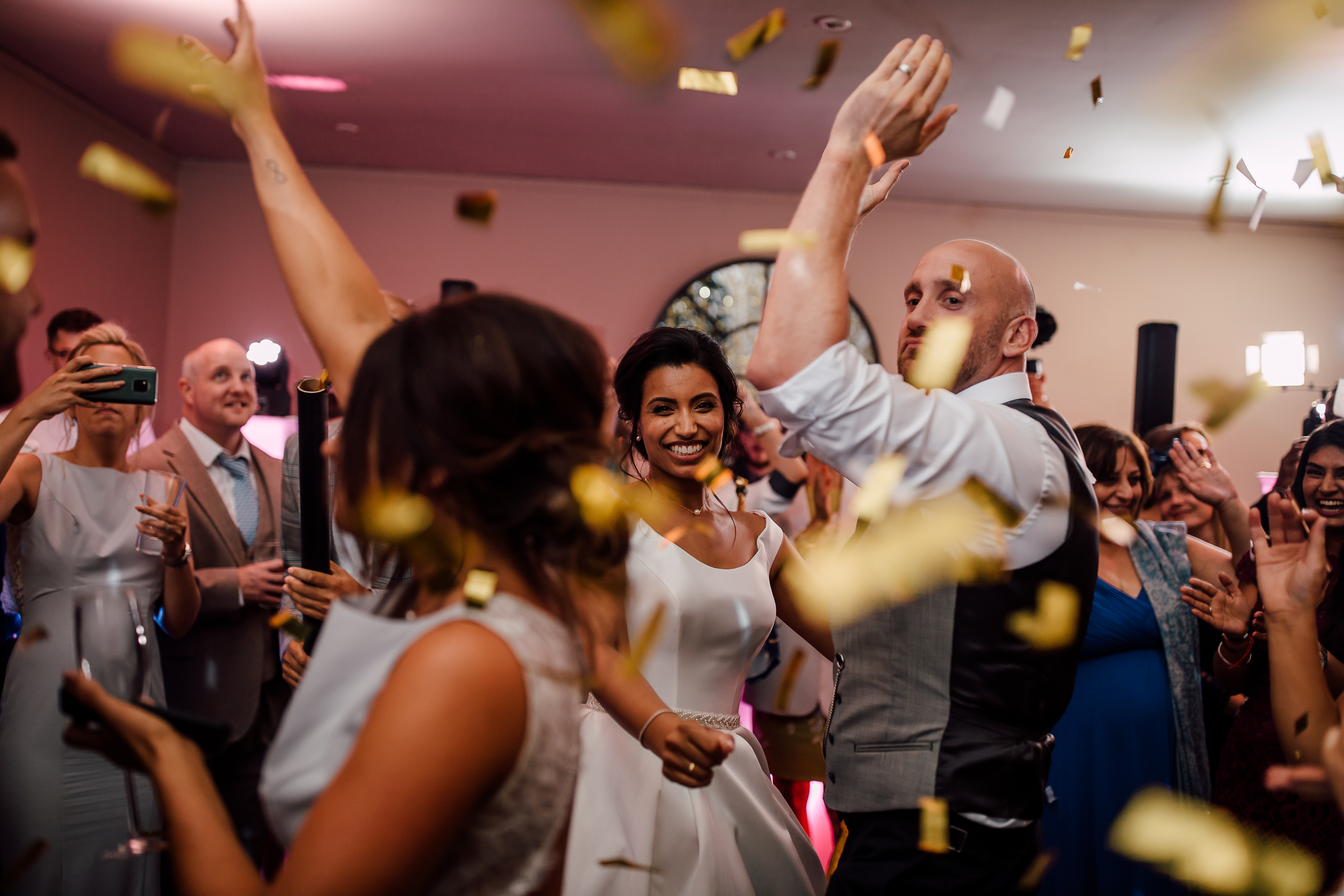 Dine Venues | Howsham Hall | Wedding Party Dancing into the night | late license