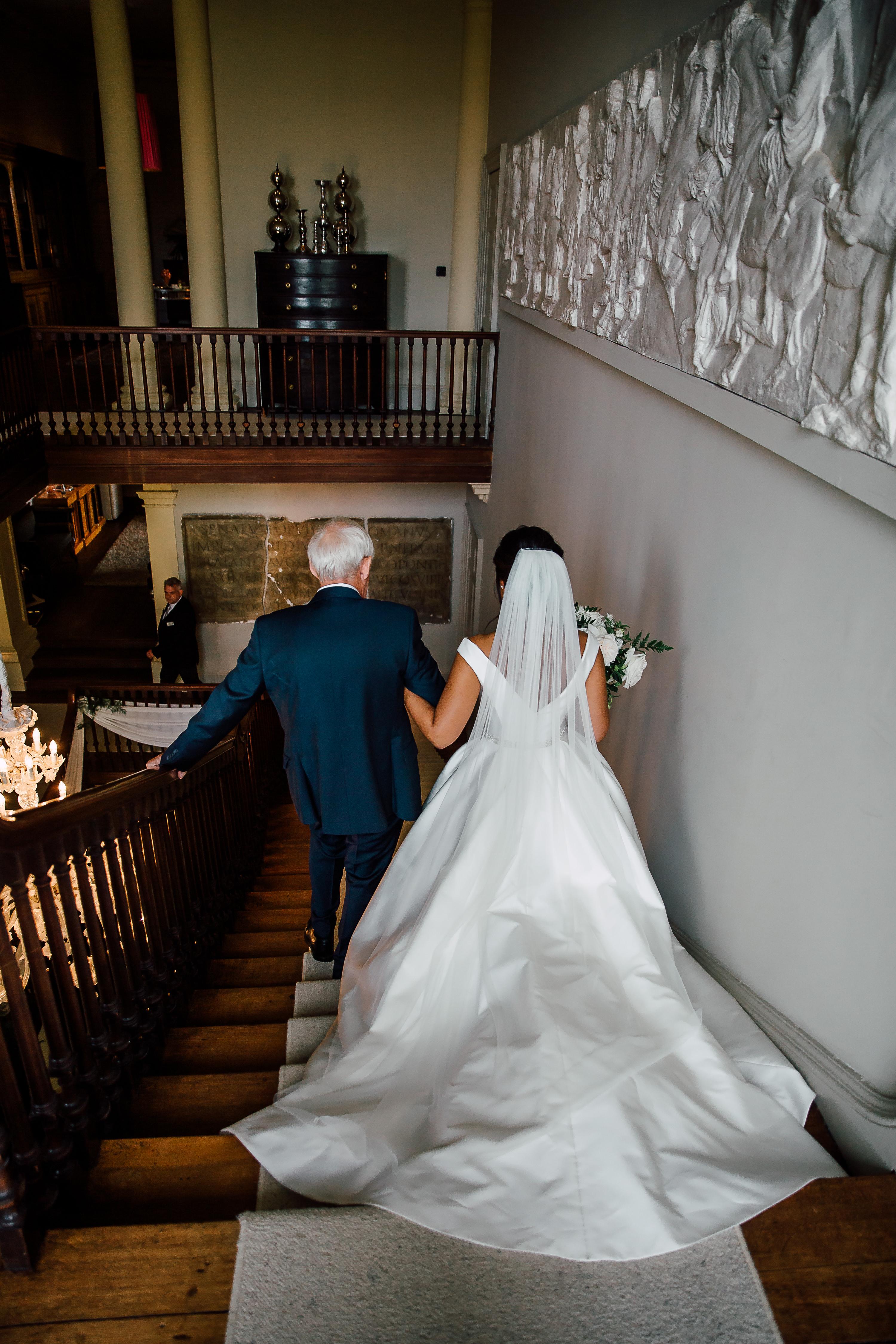 Dine Venues | Howsham Hall Wedding | Bride | Yorkshire Venue