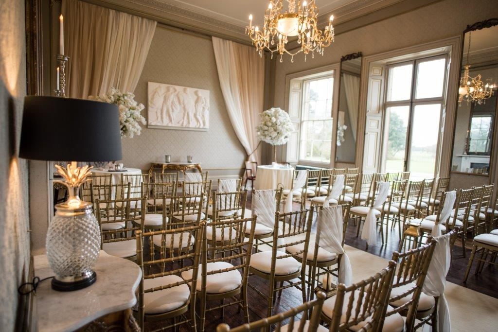 Dine Venues | Rise Hall | Ceremony Room | Jane Beadnell Photography