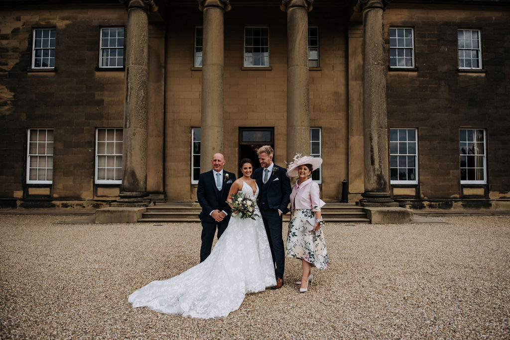 Yorkshire Wedding Venue - Rise Hall - Country House Wedding