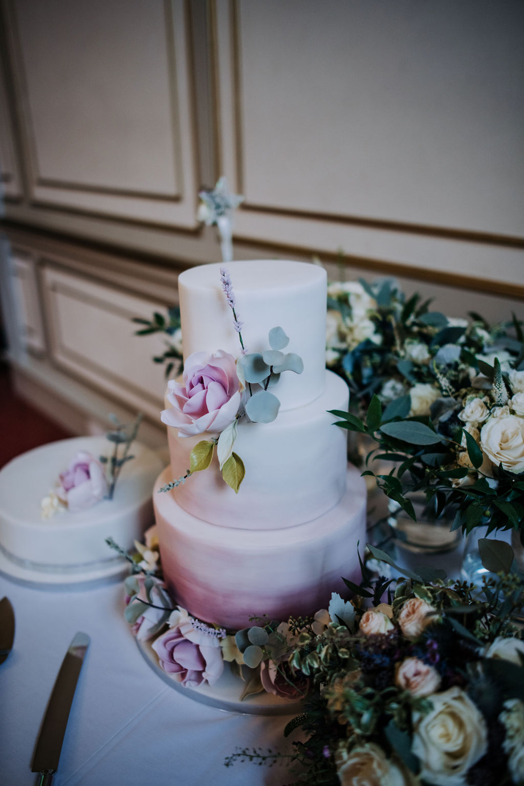Juniper Cakery Wedding Cake - Rise Hall Wedding, East Yorkshire