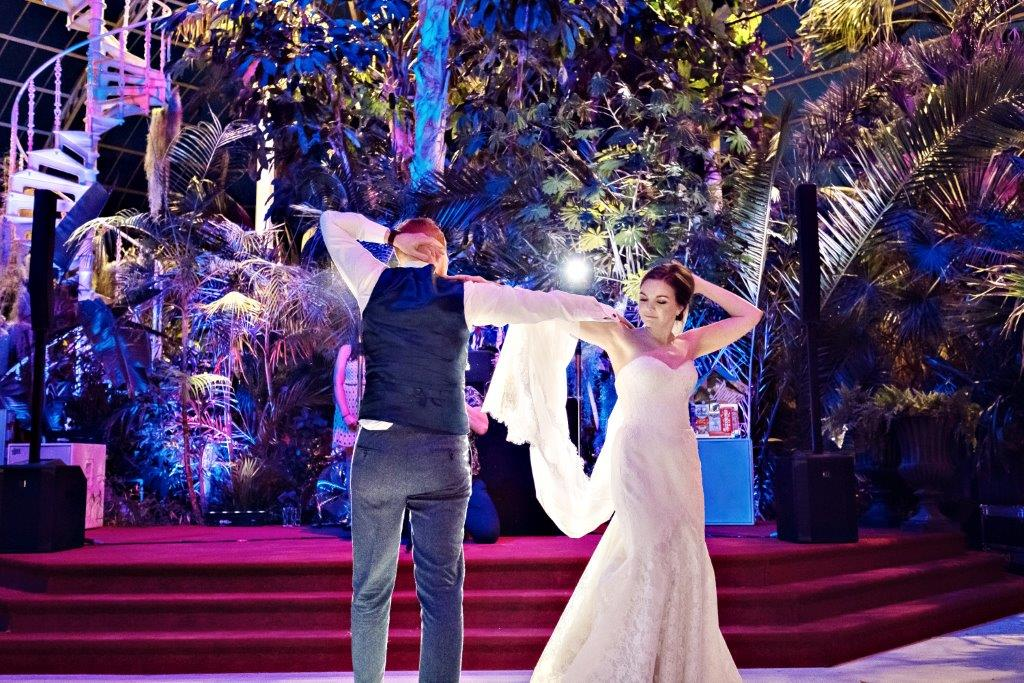 Dine | First Dance at the Palm House | Teresa C Photography