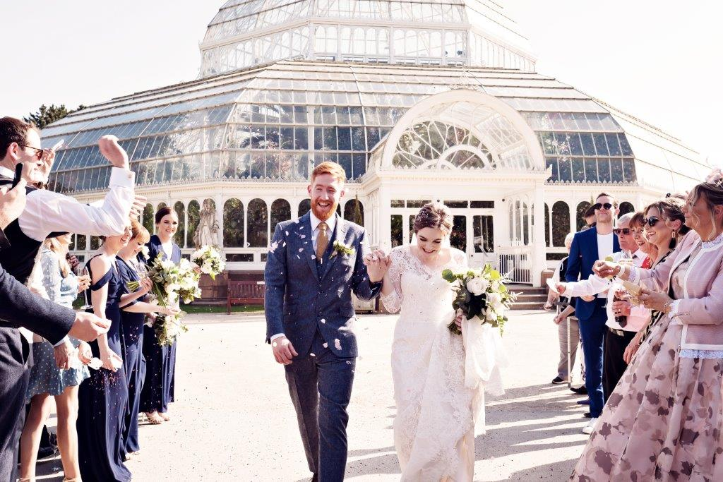 Dine | Happy Couple at the Palm House | Teresa C Photography
