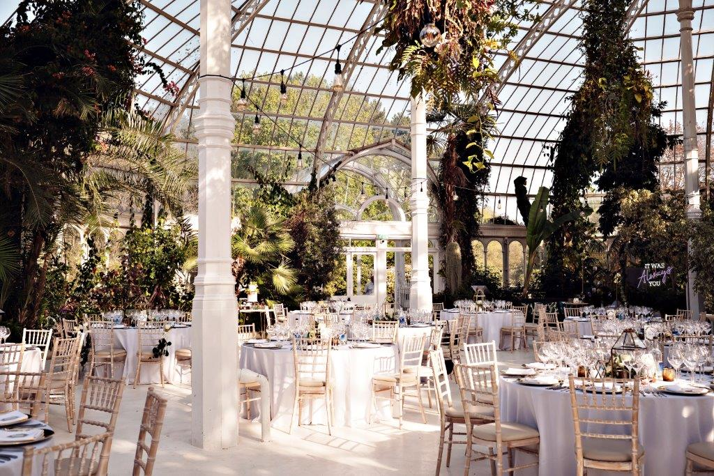 Dine | Wedding at the Palm House | Teresa C Photography