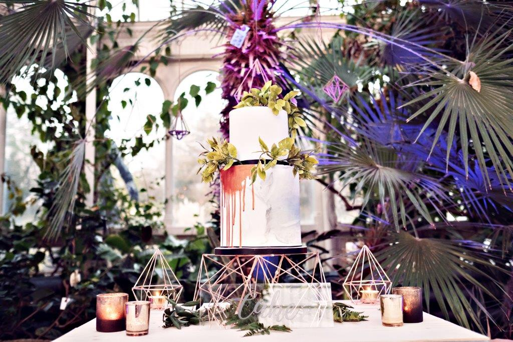 Dine   Palm House Sefton Park   Wedding Cake   Teresa C Photography