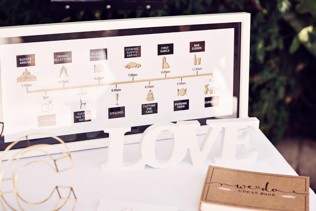 Dine | Wedding at The Palm House | Day Timeline | Teresa C Photography