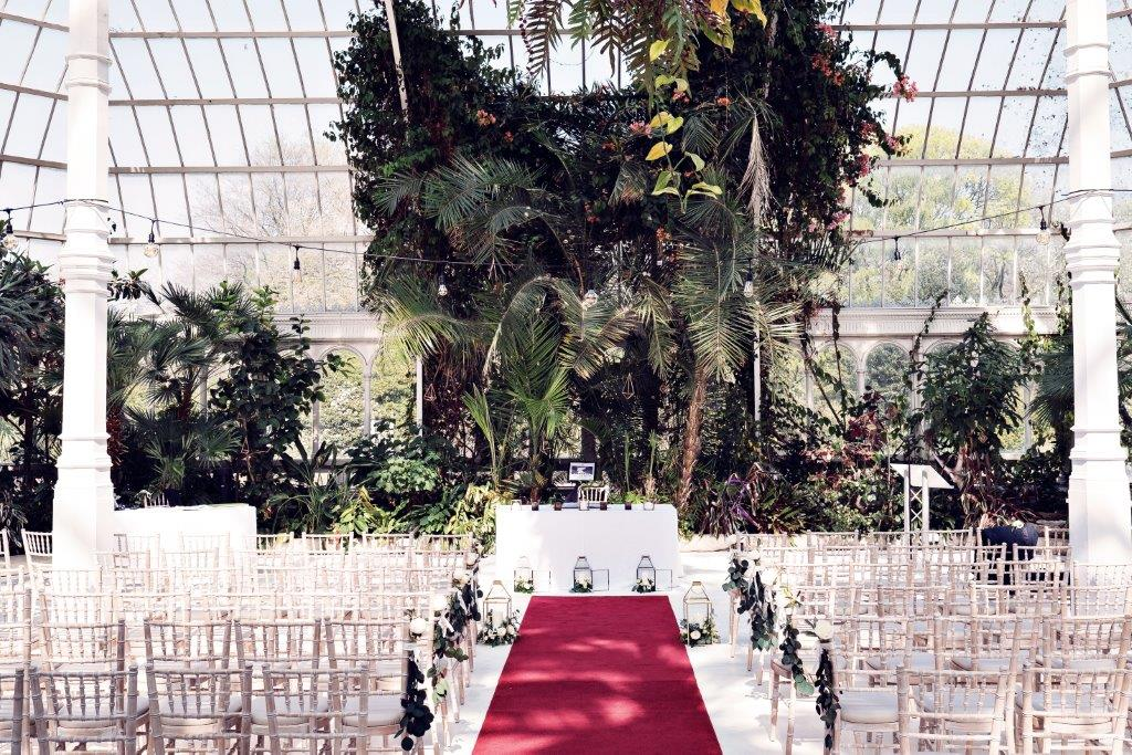 Dine | Palm House Sefton Park | Civil Ceremony | Teresa C Photography
